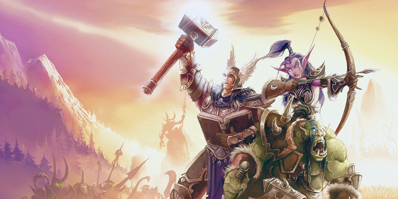 Online Game Word of Warcraft poster