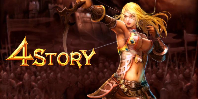 4story MMORPG Poster